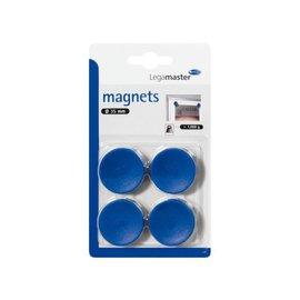 LegaMaster Magneet LegaMaster 35mm 1000gr blauw 4stuks 7-181303-4
