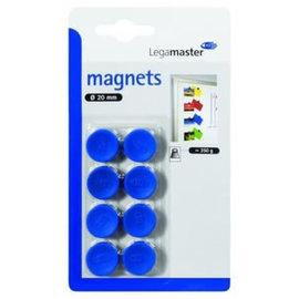 LegaMaster Aimant Legamaster 10mm 150g bleu