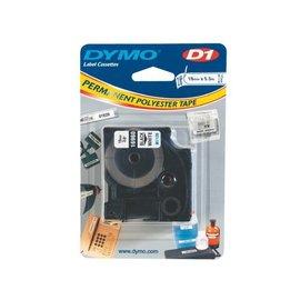 Dymo Ruban Dymo 16960 D1 718070 poly 19mmx5,5m noir sur blanc