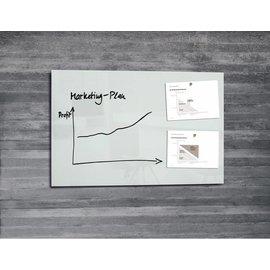 Sigel Glasbord Sigel magnetisch 1000x650x15mm wit