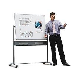 Nobo Whiteboard Nobo kantelbord 120x90cm magnetich emaille