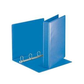 Esselte Classeur panorama à 4 anneaux Esselte A4-20mm bleu