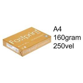 Fastprint Kopieerpapier Fastprint gold A4 160gr wit 250vel