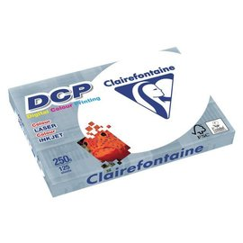 Clairefontaine Laserpapier Clairefontaine dcp A4 250gr wit 125vel