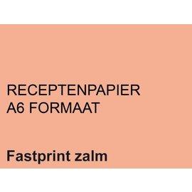 Fastprint Papier ordonnances Fastprint A6 80g saumon 2000 feuilles