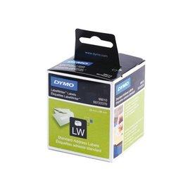 Dymo Etiket Dymo 99010 labelwriter 28x89mm 260stuks