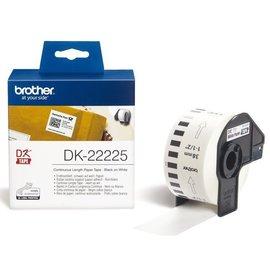 Brother Etiket Brother dk-22225 38mm thermisch 30-meter wit papier