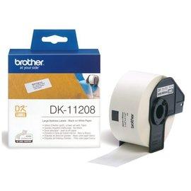 Brother Etiquette Brother DK-11208 38x90mm adresse grande 400 pièces