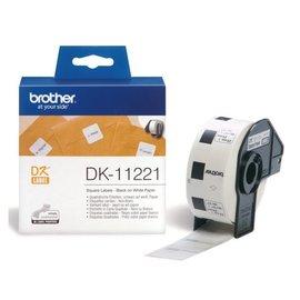 Brother Etiket Brother dk-11221 23x23mm 1000stuks