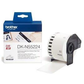 Brother Etiket Brother dk-n55224 54mm 30-meter wit papier niet kleef