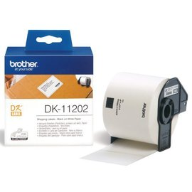 Brother Etiquette Brother Dk-11202 100x62mm expédition 300 pièces