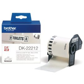 Brother Etiquette Brother DK-22212 62mm film 15m blanc