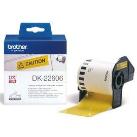 Brother Etiket Brother dk-22606 62mm 15-meter gele film