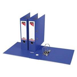 Quantore Classeur à levier Quantore A4 80mm PP bleu