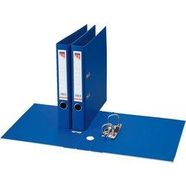 Quantore Classeur à levier Quantore A4 50mm PP bleu