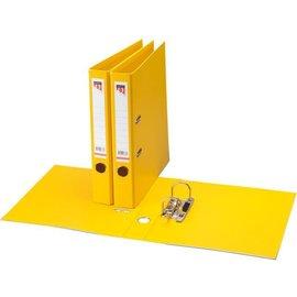 Quantore Classeur à levier Quantore A4 50mm PP jaune