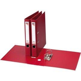 Quantore Classeur à levier Quantore A4 50mm PP rouge foncé