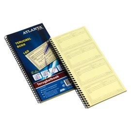 Atlanta Terugbelboek Atlanta A5707-020 74x125mm 160x2stuks