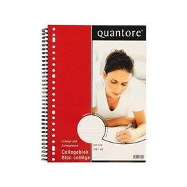 Quantore Collegeblok Quantore A4 23-gaats gelinieerd
