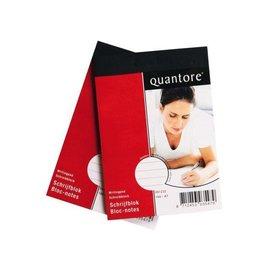 Quantore 3 x Schrijfblok Quantore A7 gelinieerd