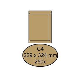 Quantore Envelop Quantore akte c4 229x324mm bruinkraft 250stuks