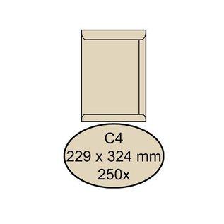 Quantore Envelop Quantore akte c4 229x324mm cremekraft 250stuks