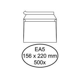 Quantore Envelop Quantore bank eA5 156x220mm zelfklevend wit 500stuks