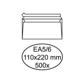 Quantore Enveloppe bancaire Quantore EA5/6 110x220mm AC blanc 500pcs