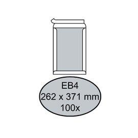 Quantore Enveloppe Quantore dos carton EB4 262x371mm AC blanc 100pcs