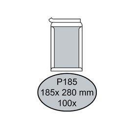 Quantore Enveloppe Quantore dos carton P185 185x280mm AC blanc 100pcs