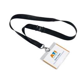 Durable Badge Durable 8600 fermé 60x90mm +cordon textile