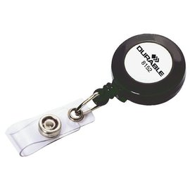 Durable Afrolmechanisme Durable 8152 met drukknop 80cm antraciet