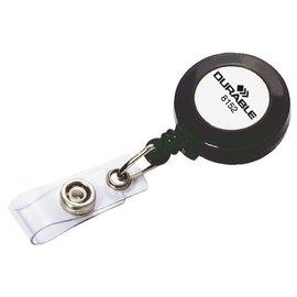 Durable Enrouleur Durable 8152 avec bouton-pression 80cm anthracite