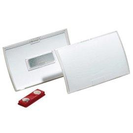 Durable Badge Durable 8212 Click Fold avec aimant 40x75mm