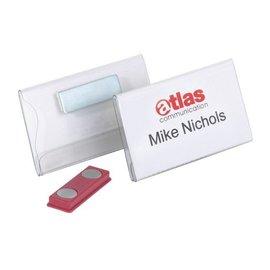 Durable Badge Durable 8116 vlak met magneet 40x75mm