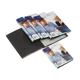 HF2 Chemise de présentation HF2 Frontview A4 30 pochettes anth