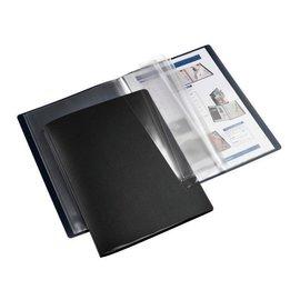 HF2 Chemise de présentation HF2 flexible A4 20 pochettes noir