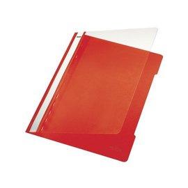 Leitz Chemise à lamelle Leitz 4191 A4 PVC rouge