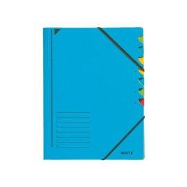 Leitz Trieur Leitz 3907 7 compartiments bleu