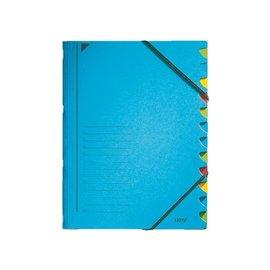 Leitz Trieur Leitz 3907 12 compartiments bleu