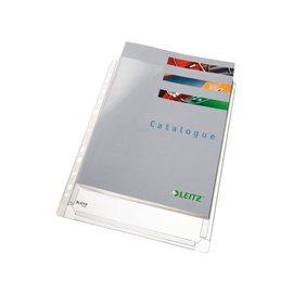 Leitz Showtas Leitz 4756 11-gaats pvc 0.17mm glad met expansievouw