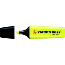 Stabilo Markeerstift STABILO boss geel
