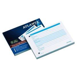 Atlanta Carnet de quittances Atlanta A6 50x2 feuilles