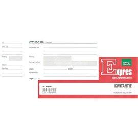 Atlanta Bloc de quittances Expres SI-40030 84x205mm 100 feuilles