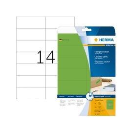 Herma Etiket Herma 5061 105x42.3mm groen 280stuks