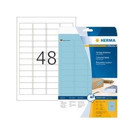 Herma Etiket Herma 4368 45.7x21.2mm blauw 960stuks