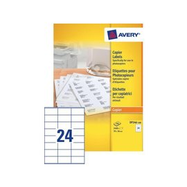 Avery Etiquette copieurs Avery DP246-100 70x36mm 2400 pièces