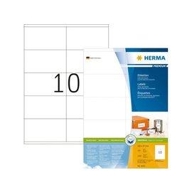 Herma Etiquette Herma Premium 4425 105x57mm blanc 1000 pièces