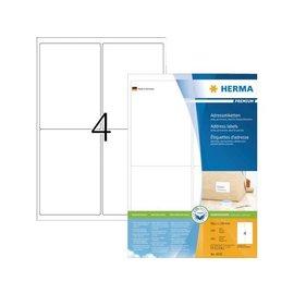 Herma Etiquette Herma Premium 4250 99.1x139mm blanc 400 pièces