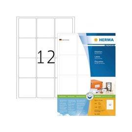 Herma Etiquette Herma Premium 4266 63.5x72mm blanc 1200 pièces